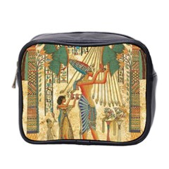 Egyptian Man Sun God Ra Amun Mini Toiletries Bag 2 Side