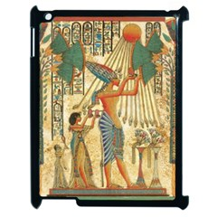 Egyptian Man Sun God Ra Amun Apple Ipad 2 Case (black) by Celenk
