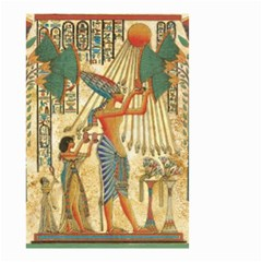 Egyptian Man Sun God Ra Amun Small Garden Flag (two Sides)