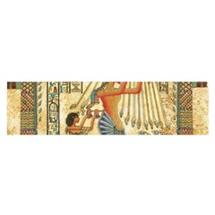 Egyptian Man Sun God Ra Amun Satin Scarf (oblong)