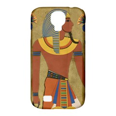 Egyptian Tutunkhamun Pharaoh Design Samsung Galaxy S4 Classic Hardshell Case (pc+silicone) by Celenk