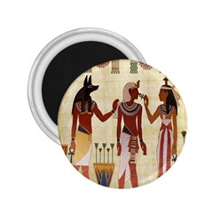 Egyptian Design Man Woman Priest 2 25  Magnets by Celenk