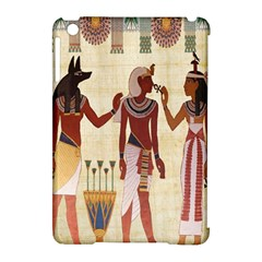 Egyptian Design Man Woman Priest Apple Ipad Mini Hardshell Case (compatible With Smart Cover)