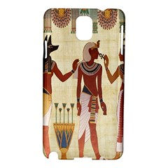 Egyptian Design Man Woman Priest Samsung Galaxy Note 3 N9005 Hardshell Case by Celenk