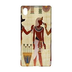 Egyptian Design Man Woman Priest Sony Xperia Z3+ by Celenk