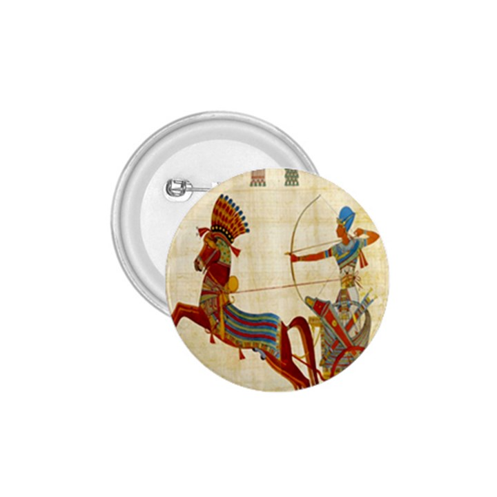Egyptian Tutunkhamun Pharaoh Design 1.75  Buttons