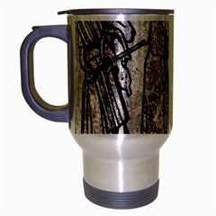 Man Ethic African People Collage Travel Mug (silver Gray) by Celenk