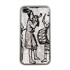 Man Ethic African People Collage Apple Iphone 4 Case (clear) by Celenk