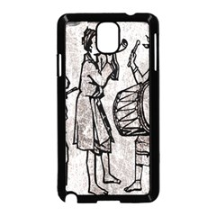 Man Ethic African People Collage Samsung Galaxy Note 3 Neo Hardshell Case (black) by Celenk