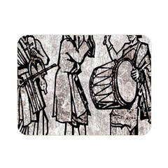 Man Ethic African People Collage Double Sided Flano Blanket (mini)  by Celenk