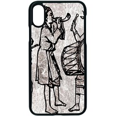 Man Ethic African People Collage Apple Iphone X Seamless Case (black)
