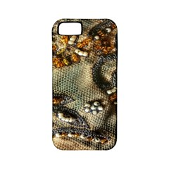 Texture Textile Beads Beading Apple Iphone 5 Classic Hardshell Case (pc+silicone) by Celenk