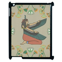 Egyptian Woman Wings Design Apple Ipad 2 Case (black) by Celenk