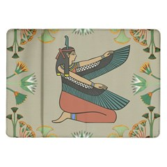 Egyptian Woman Wings Design Samsung Galaxy Tab 10 1  P7500 Flip Case by Celenk