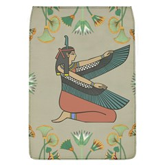 Egyptian Woman Wings Design Flap Covers (l)  by Celenk
