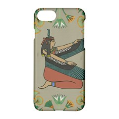 Egyptian Woman Wings Design Apple Iphone 7 Hardshell Case by Celenk