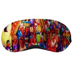 Guatemala Art Painting Naive Sleeping Masks by Celenk