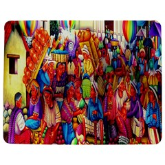 Guatemala Art Painting Naive Jigsaw Puzzle Photo Stand (rectangular) by Celenk