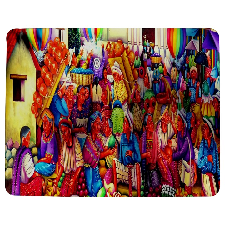 Guatemala Art Painting Naive Jigsaw Puzzle Photo Stand (Rectangular)