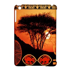 Africa Safari Summer Sun Nature Apple Ipad Mini Hardshell Case (compatible With Smart Cover) by Celenk