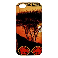 Africa Safari Summer Sun Nature Iphone 5s/ Se Premium Hardshell Case