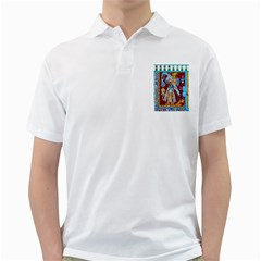 Mexico Puebla Mural Ethnic Aztec Golf Shirts by Celenk