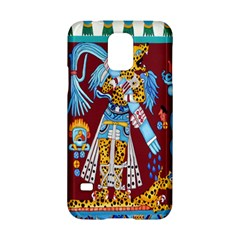 Mexico Puebla Mural Ethnic Aztec Samsung Galaxy S5 Hardshell Case  by Celenk