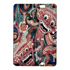 Indonesia Bali Batik Fabric Kindle Fire Hdx 8 9  Hardshell Case by Celenk