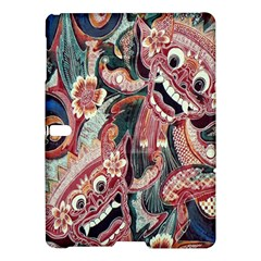 Indonesia Bali Batik Fabric Samsung Galaxy Tab S (10 5 ) Hardshell Case  by Celenk