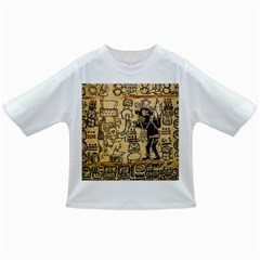 Mystery Pattern Pyramid Peru Aztec Font Art Drawing Illustration Design Text Mexico History Indian Infant/Toddler T-Shirts