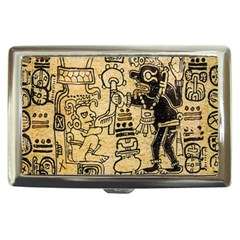 Mystery Pattern Pyramid Peru Aztec Font Art Drawing Illustration Design Text Mexico History Indian Cigarette Money Cases