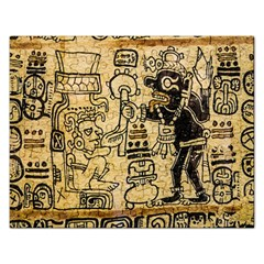Mystery Pattern Pyramid Peru Aztec Font Art Drawing Illustration Design Text Mexico History Indian Rectangular Jigsaw Puzzl