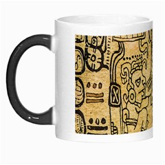 Mystery Pattern Pyramid Peru Aztec Font Art Drawing Illustration Design Text Mexico History Indian Morph Mugs
