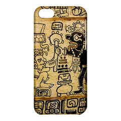 Mystery Pattern Pyramid Peru Aztec Font Art Drawing Illustration Design Text Mexico History Indian Apple iPhone 5C Hardshell Case