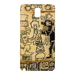 Mystery Pattern Pyramid Peru Aztec Font Art Drawing Illustration Design Text Mexico History Indian Samsung Galaxy Note 3 N9005 Hardshell Back Case