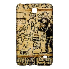 Mystery Pattern Pyramid Peru Aztec Font Art Drawing Illustration Design Text Mexico History Indian Samsung Galaxy Tab 4 (7 ) Hardshell Case