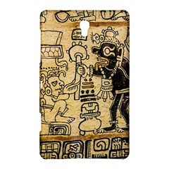 Mystery Pattern Pyramid Peru Aztec Font Art Drawing Illustration Design Text Mexico History Indian Samsung Galaxy Tab S (8.4 ) Hardshell Case