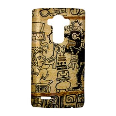 Mystery Pattern Pyramid Peru Aztec Font Art Drawing Illustration Design Text Mexico History Indian LG G4 Hardshell Case
