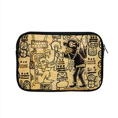 Mystery Pattern Pyramid Peru Aztec Font Art Drawing Illustration Design Text Mexico History Indian Apple MacBook Pro 15  Zipper Case