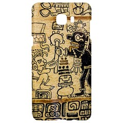Mystery Pattern Pyramid Peru Aztec Font Art Drawing Illustration Design Text Mexico History Indian Samsung C9 Pro Hardshell Case