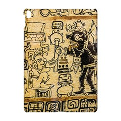 Mystery Pattern Pyramid Peru Aztec Font Art Drawing Illustration Design Text Mexico History Indian Apple iPad Pro 10.5   Hardshell Case