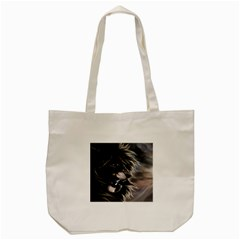 Angry Lion Digital Art Hd Tote Bag (cream) by Celenk