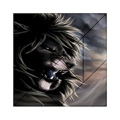 Angry Lion Digital Art Hd Acrylic Tangram Puzzle (6  X 6 ) by Celenk