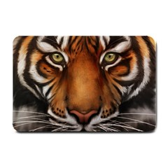 The Tiger Face Small Doormat  by Celenk
