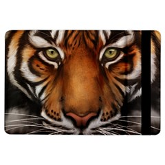 The Tiger Face Ipad Air Flip by Celenk
