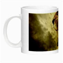 Roaring Lion Night Luminous Mugs by Celenk