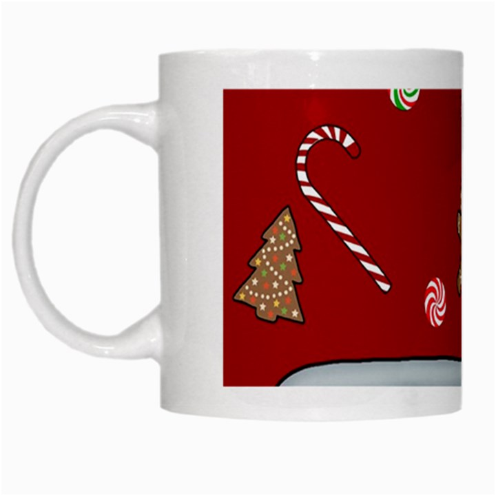 Hilarious holidays  White Mugs