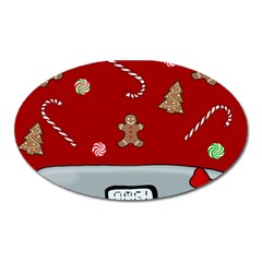 Hilarious Holidays  Oval Magnet by Valentinaart