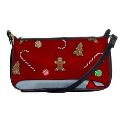 Hilarious Holidays  Shoulder Clutch Bags by Valentinaart
