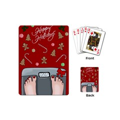 Hilarious Holidays  Playing Cards (mini)  by Valentinaart